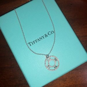 Tiffany & Co. Atlas Pendant Necklace